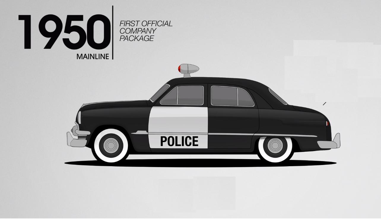 Lịch sử những chiếc xe Ford đặc chủng của cảnh sát Mỹ