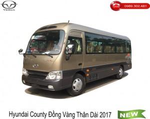 Hyundai County Đồng Vàng Thân Dài