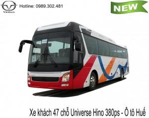 Xe 47 chỗ Universe Noble Hino 380ps - Ô tô Huế