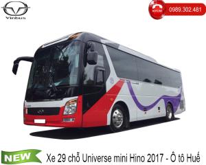 Xe 29 chỗ Universe Noble mini Hino - Ô tô Huế