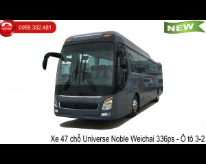 xe khách 47 chỗ Universe Noble Weichai 336ps - Ô tô 3-2