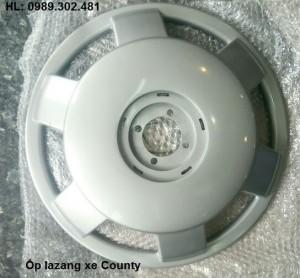 Ốp lazang county, ốp la răng xe Hyundai County