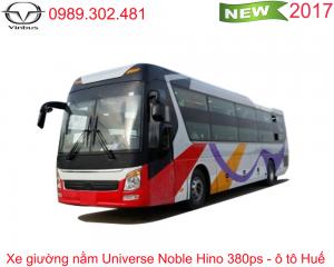 Xe khách giường nằm Universe Noble Hino 380ps - Ô tô Huế
