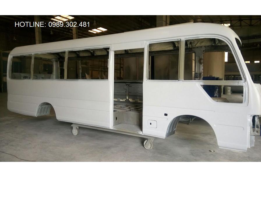Thân vỏ xe Hyundai County Ngô Gia Tự