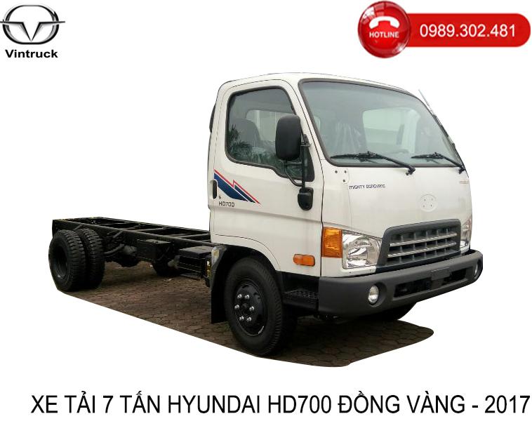 Xe tải Hyundai Mighty Đồng Vàng HD700